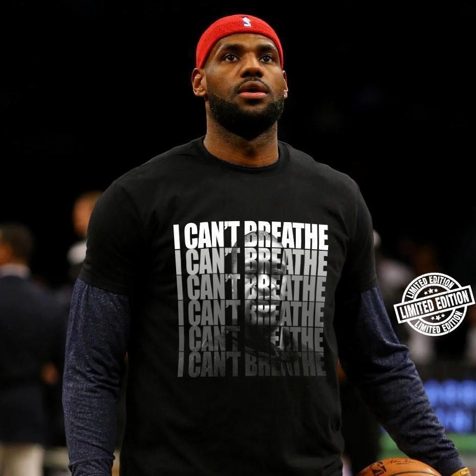 I can't breathe shirt 1