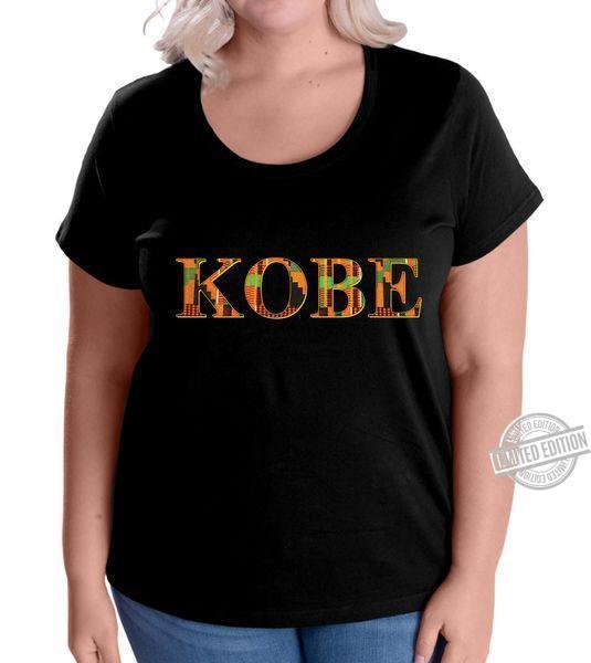 Kente Cloth Kobe Tribute RIP Farewell Shirt